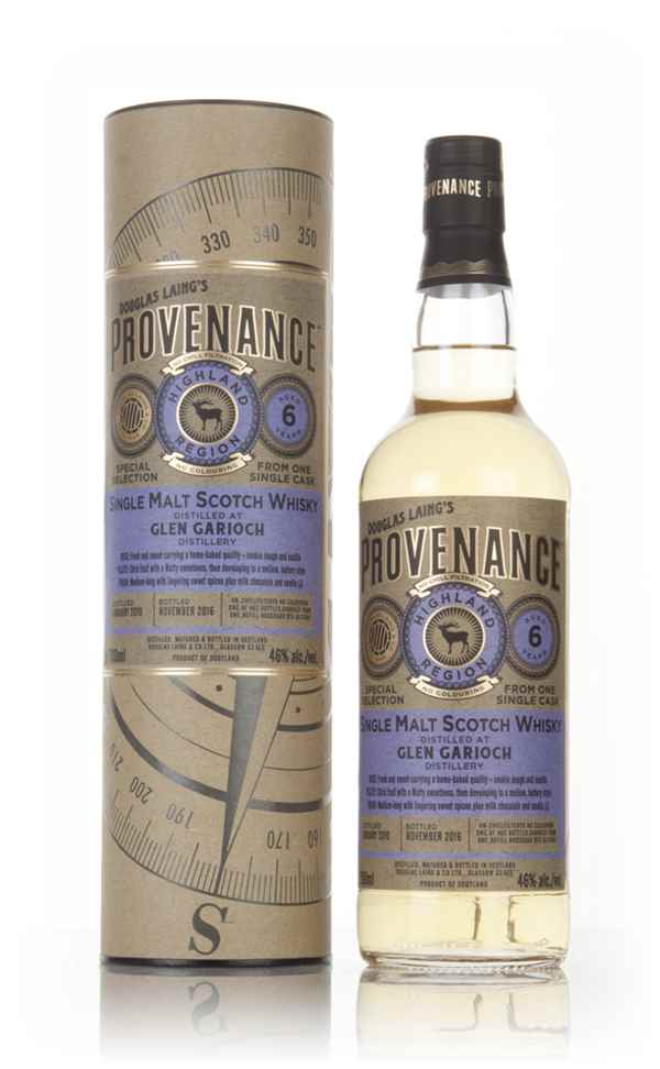 Glen Garioch 6 Year Old 2010 (cask 11560) - Provenance (Douglas Laing)