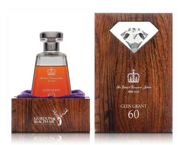 Glen Grant 60 Years old Queen Elizabeth II Diamond Jubilee (1952-2012)