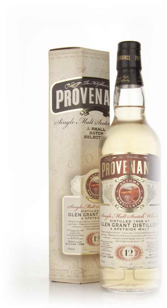 Glen Grant 12 Year Old 1998 - Provenance (Douglas Laing)