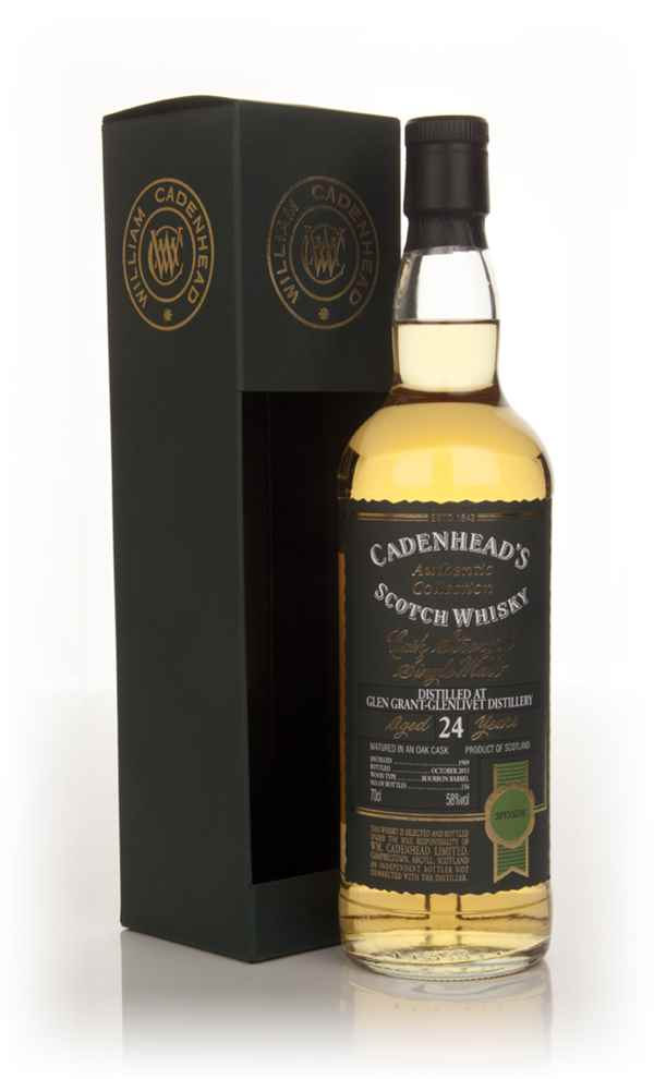 Glen Grant 24 Year Old 1989 - Authentic Collection (WM Cadenhead)