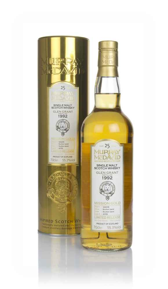 Glen Grant 25 Year Old 1992 (cask 42056) - Mission Gold (Murray McDavid)