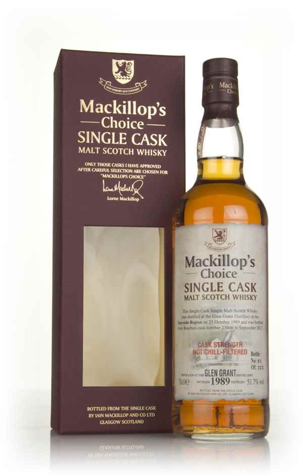 Glen Grant 27 Year Old 1989 (cask 23046) - Mackillop's Choice
