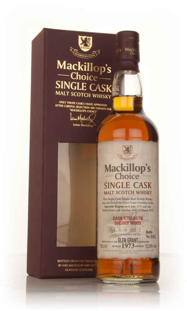 Glen Grant 39 Year Old 1973 (cask 6582) - Mackillop's Choice