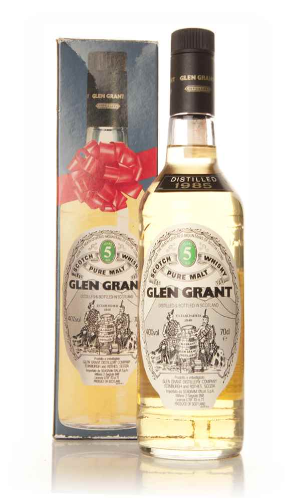Glen Grant 5 Year Old Single Malt - 1985-90
