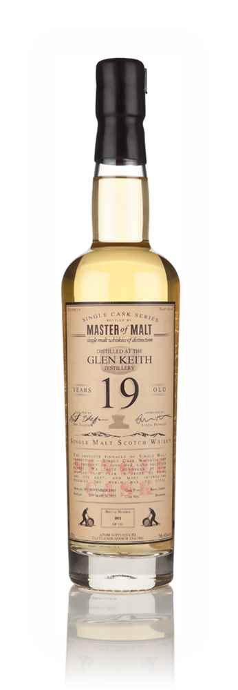 Glen Keith 19 Year Old 1995 - Single Cask (Master of Malt)