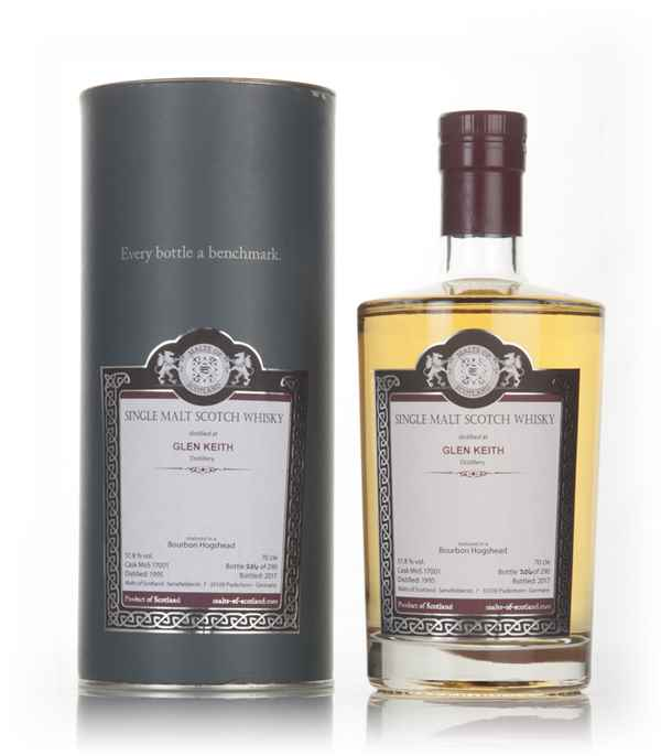Glen Keith 1995 (bottled 2017) (cask 17001) - Malts of Scotland