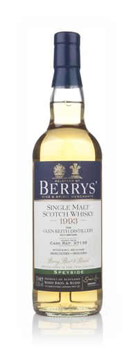 Glen Keith 20 Year Old 1993 (cask 97135) (Berry Bros & Rudd)