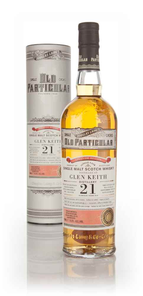 Glen Keith 21 Year Old 1993 (cask 10793) - Old Particular (Douglas Laing)