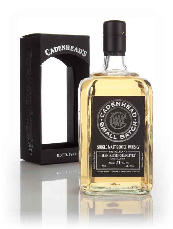 Glen Keith 21 Year Old 1993 - Small Batch (WM Cadenhead)