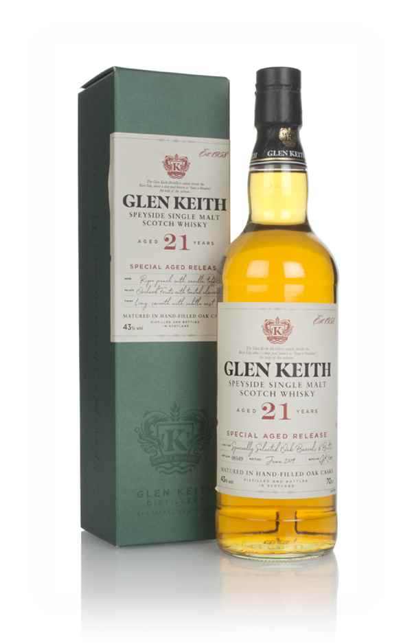 Glen Keith 21 Year Old - Secret Speyside Collection