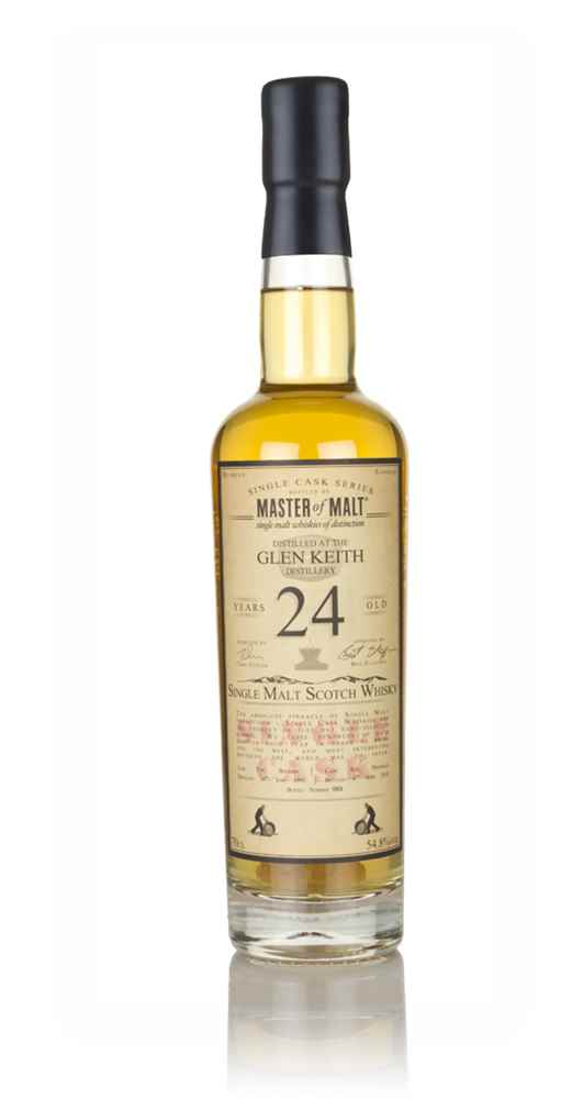 Glen Keith 24 Year Old 1993 - Single Cask (Master of Malt)