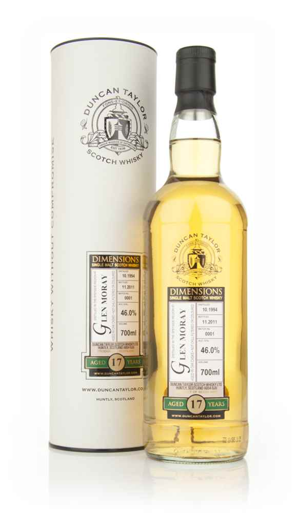 Glen Moray 17 Year Old 1994 - Dimensions (Duncan Taylor)