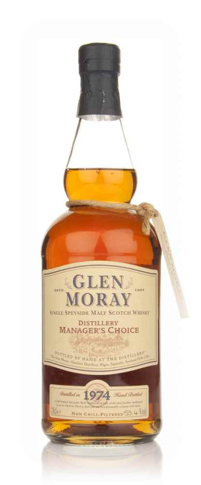 Glen Moray 1974 Manager's Choice