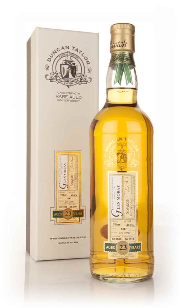 Glen Moray 23 Year Old 1988 Rare Auld (Duncan Taylor)