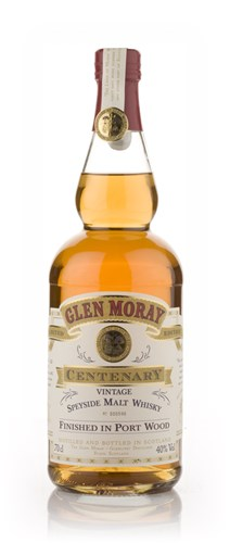 Glen Moray Centenary Port Wood Finish