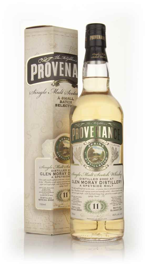 Glen Moray 11 Year Old 2000 - Provenance (Douglas Laing)