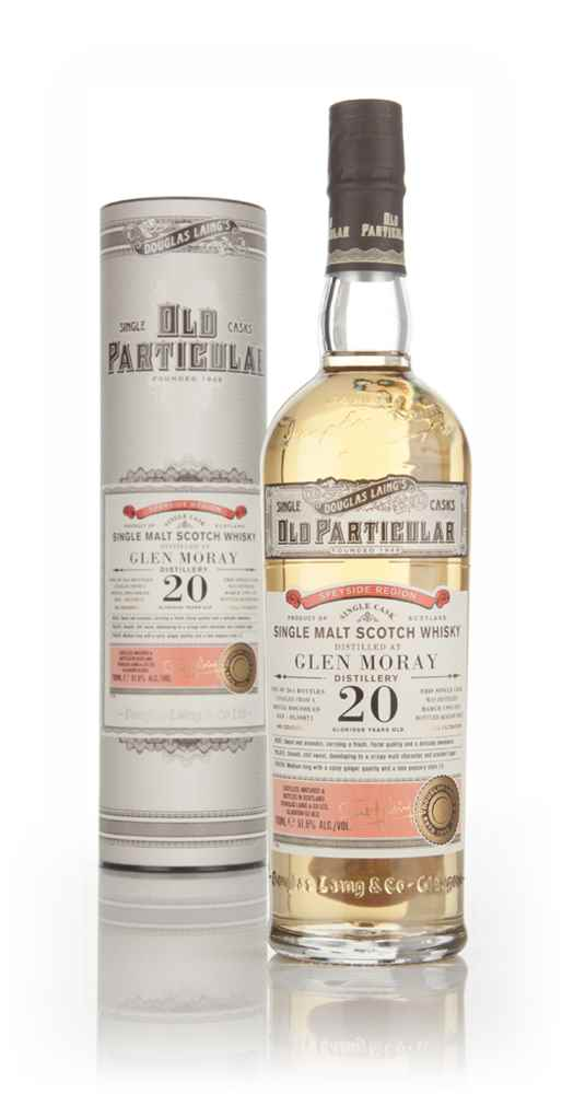 Glen Moray 20 Year Old 1995 (cask 10871) - Old Particular (Douglas Laing)