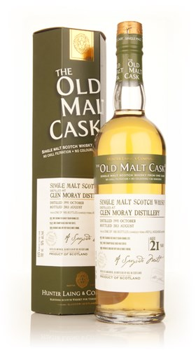 Glen Moray 21 Year Old 1991 (cask 9935) - Old Malt Cask (Hunter Laing)