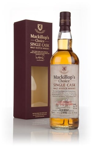 Glen Moray 23 Year Old 1990 (cask 7628) - Mackillop's Choice