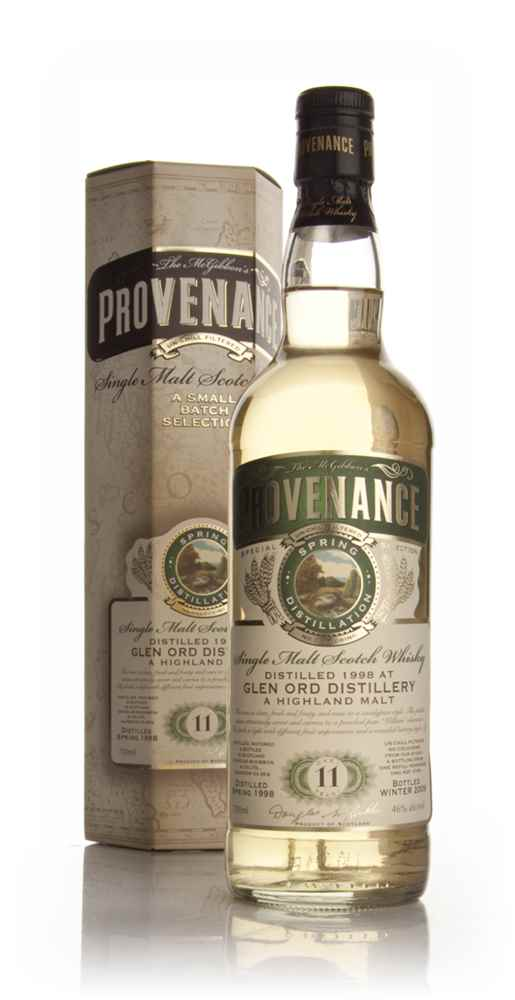 Glen Ord 11 Year Old 1998 - Provenance (Douglas Laing)