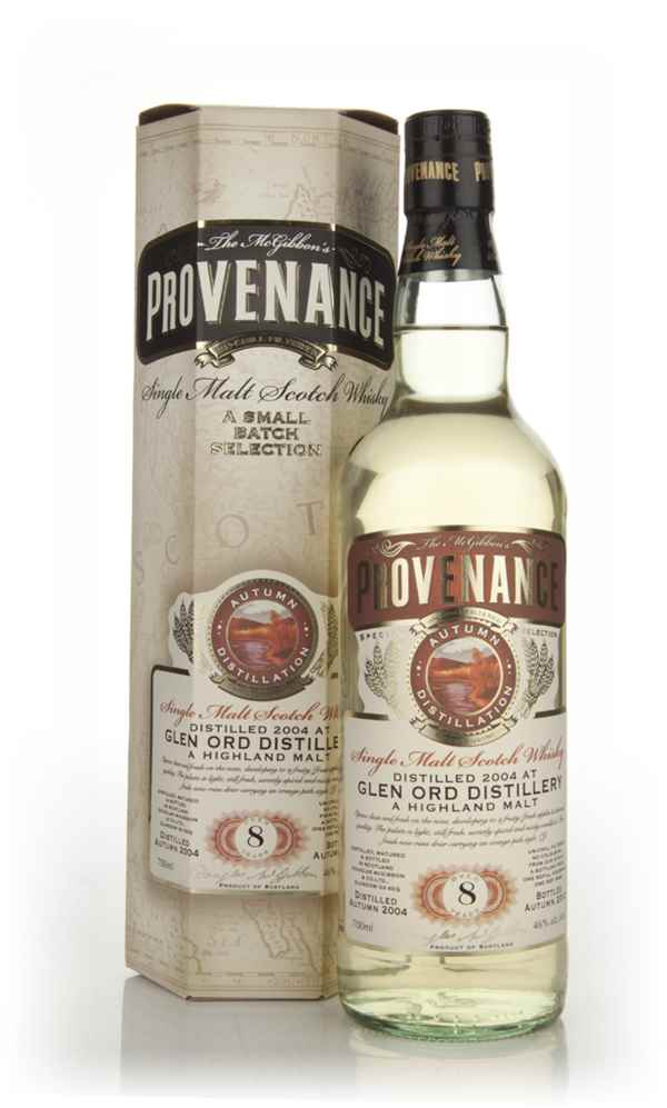 Glen Ord 8 Year Old 2004 - Provenance (Douglas Laing)