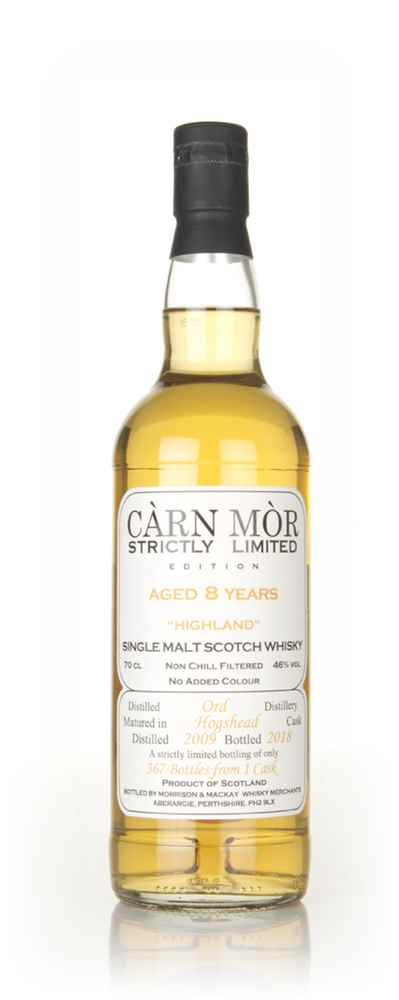 Glen Ord 8 Year Old 2009 - Strictly Limited (Càrn Mòr)