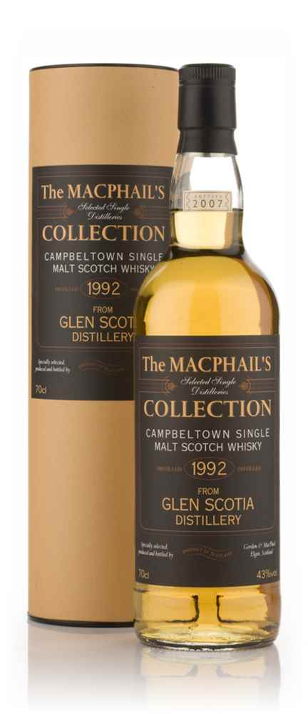Glen Scotia 1992 - The MacPhail's Collection (Gordon & MacPhail)