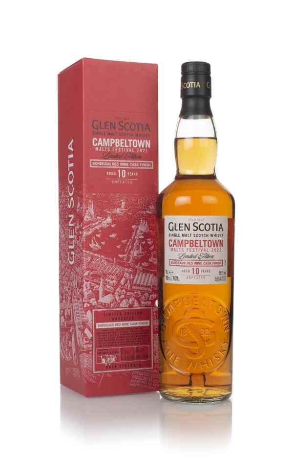 Glen Scotia 10 Year Old - Campbeltown Malts Festival 2021