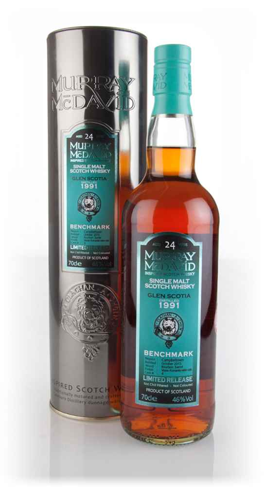 Glen Scotia 24 Year Old 1991 (cask 4) - Benchmark (Murray McDavid)