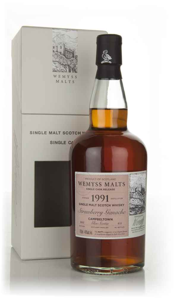 Strawberry Ganache 1991 - Wemyss Malts (Glen Scotia)