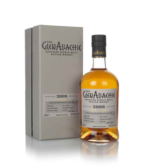 GlenAllachie 12 Year Old 2008 (cask 3966) - Single Cask