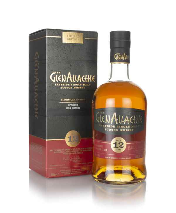 GlenAllachie 12 Year Old Spanish Oak Finish