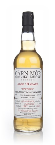 Glenallachie 18 Year Old 1995 - Strictly Limited (Càrn Mòr)