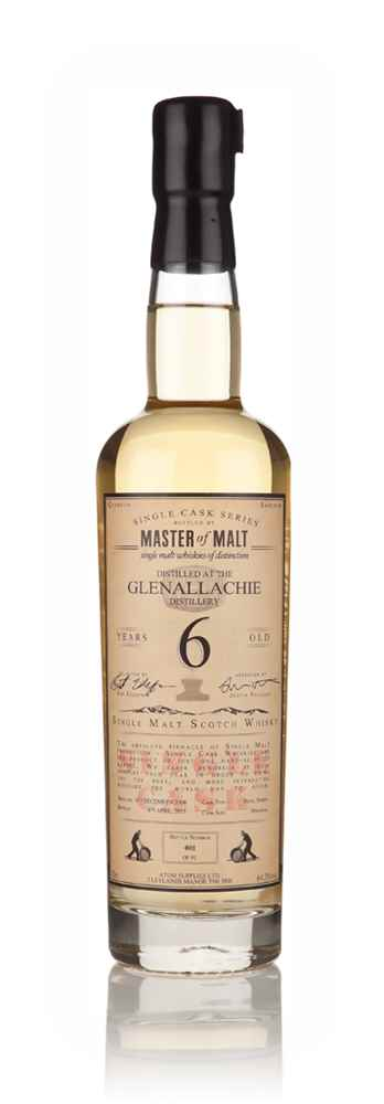 Glenallachie 6 Year Old 2008 - Single Cask (Master of Malt)