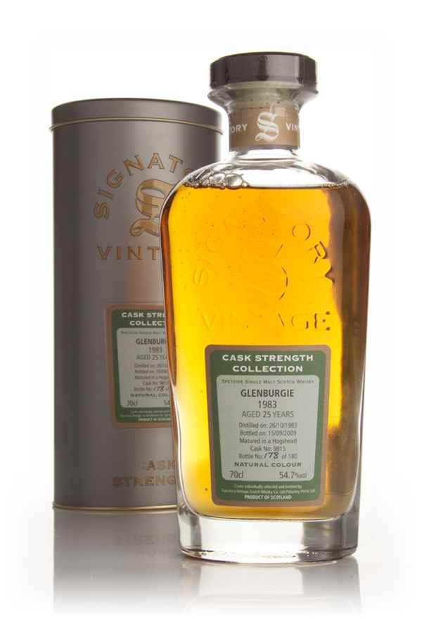 Glenburgie 25 Year Old 1983 - Cask Strength Collection (Signatory)