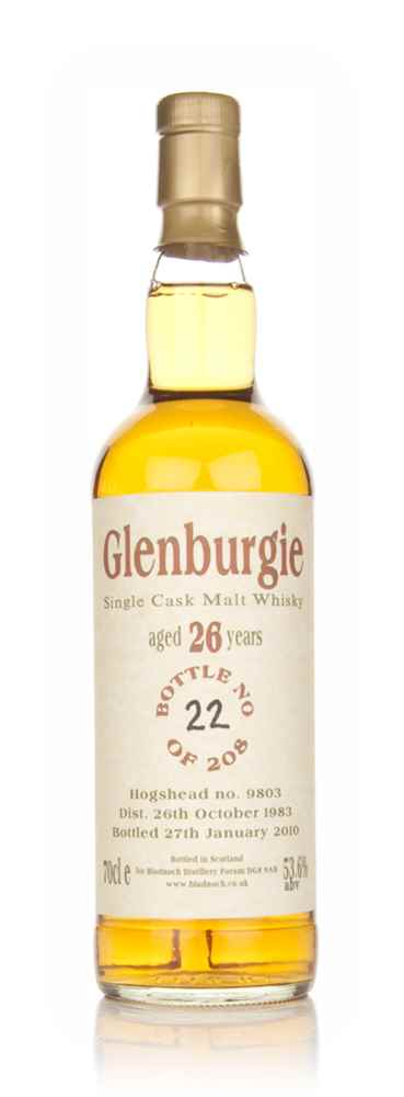 Glenburgie 26 Year Old 1983 (Bladnoch)