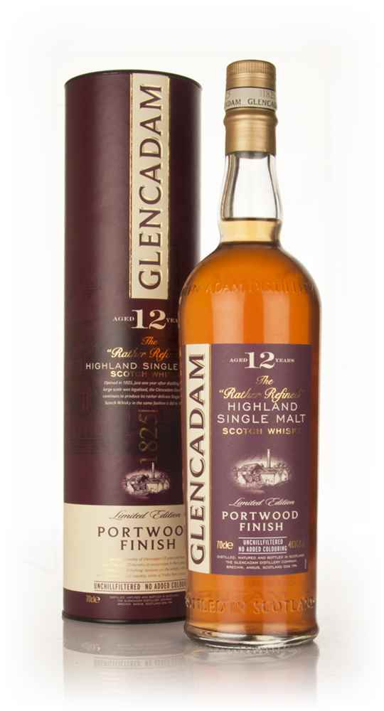 Glencadam 12 Year Old Portwood Finish