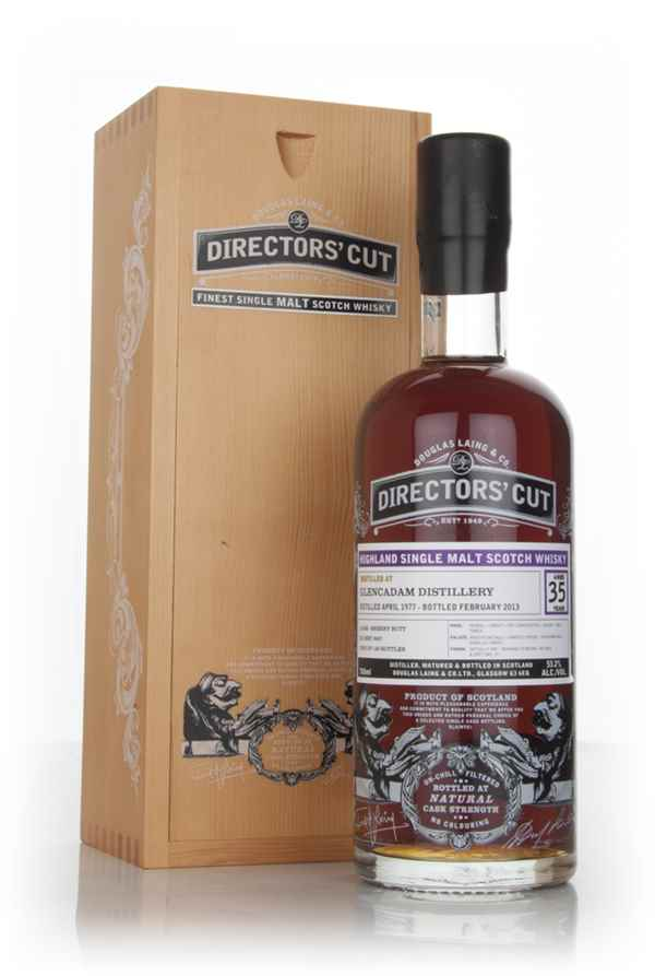 Glencadam 35 Year Old 1977 (cask 9457) - Director's Cut (Douglas Laing)