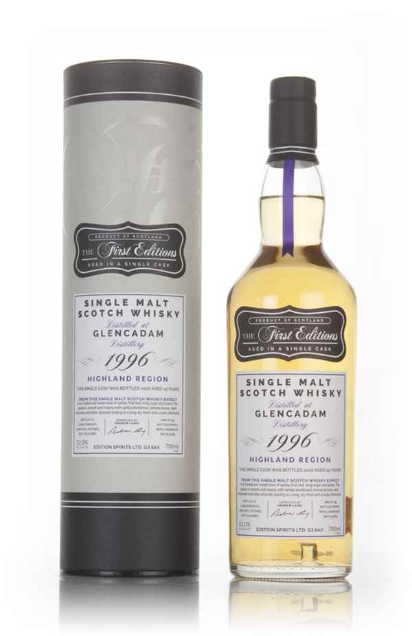 Glencadam 19 Year Old 1996 (cask 12785) - The First Editions (Hunter Laing)