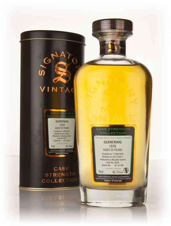 Glencraig 35 Year Old 1976 Cask 4255 - Cask Strength Collection (Signatory)