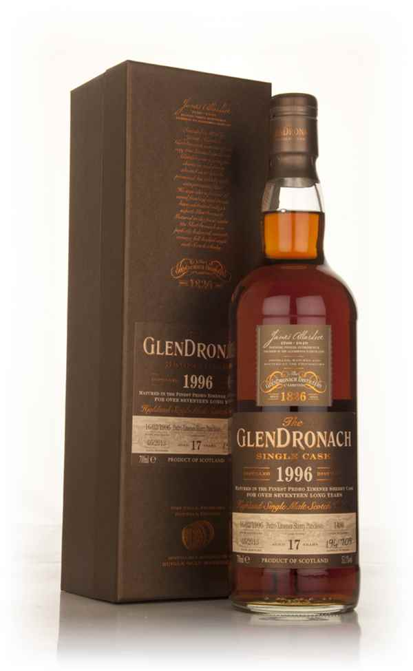 GlenDronach 17 Year Old 1996 (cask 1490) - Batch 8