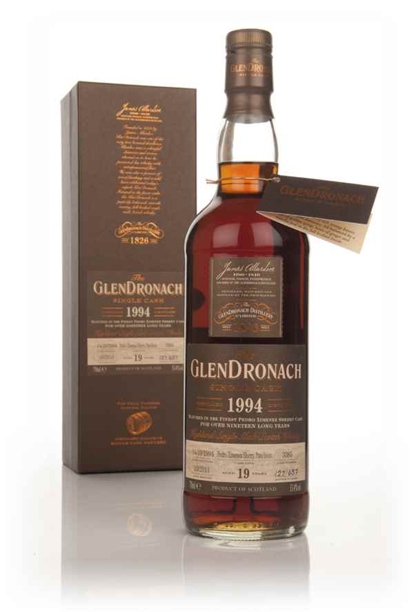 GlenDronach 19 Year Old 1994 (cask 3385) - Batch 9