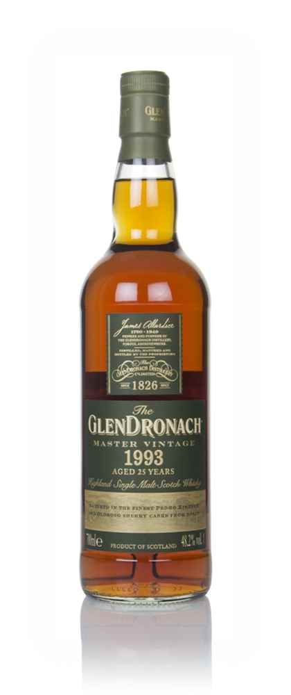 The GlenDronach 25 Year Old 1993 - Master Vintage