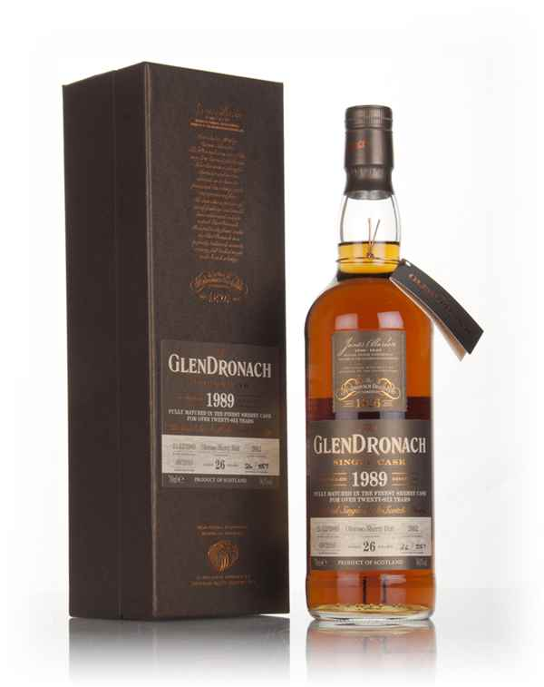 GlenDronach 26 Year Old 1989 (cask 2662)
