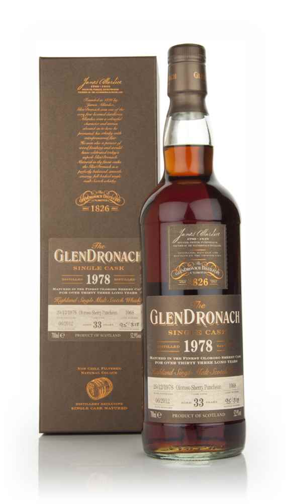 GlenDronach 33 Year Old 1978 Batch 6