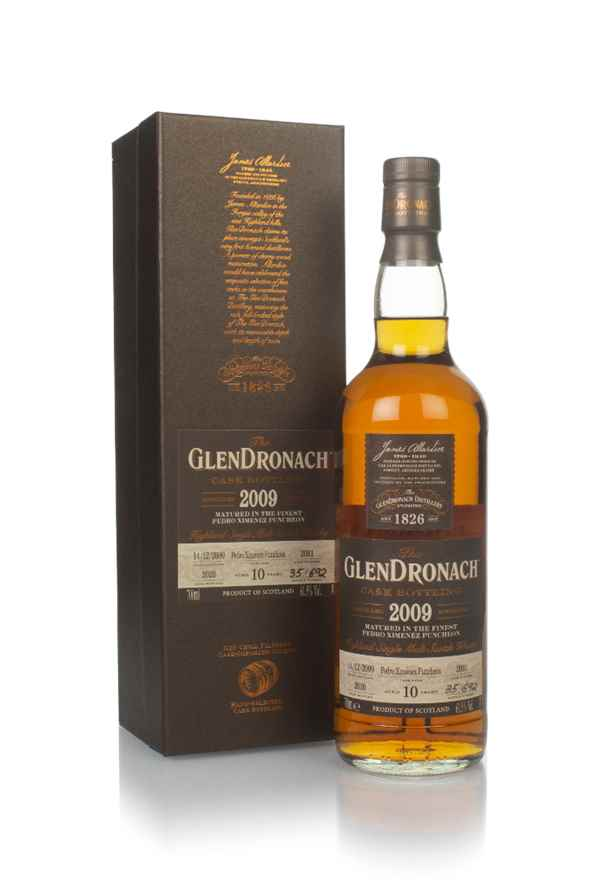 The GlenDronach 10 Year Old 2009 (cask 2091)