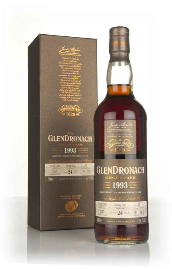 The GlenDronach 24 Year Old 1993 (cask 55)