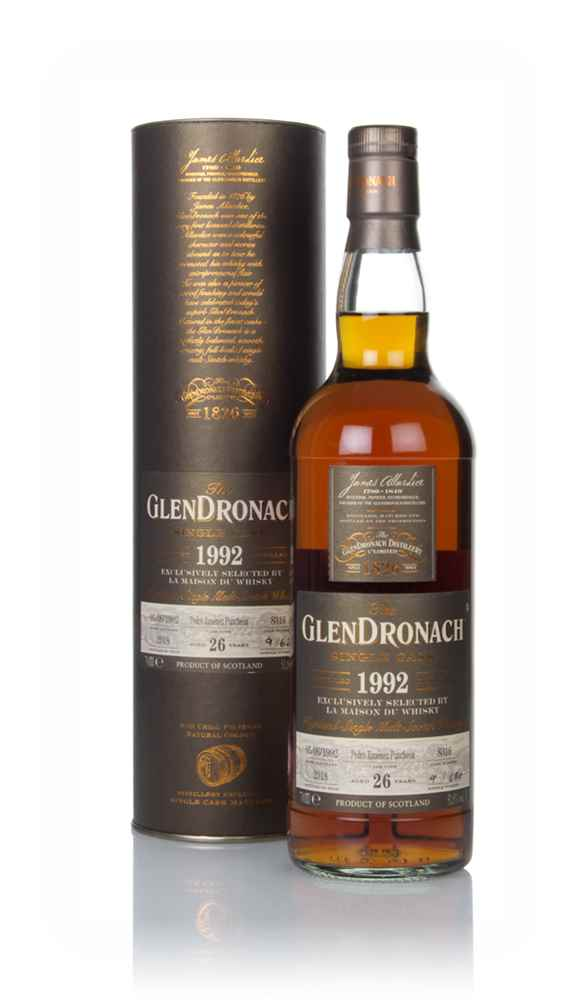 The GlenDronach 26 Year 1992 (cask 8316)