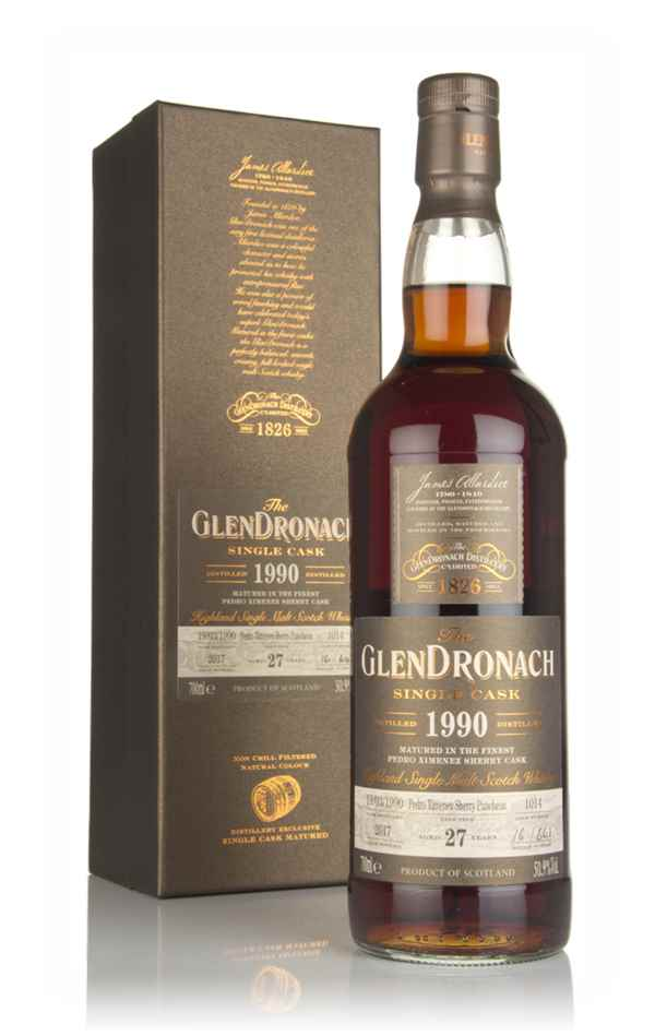 The GlenDronach 27 Year Old 1990 (cask 1014)