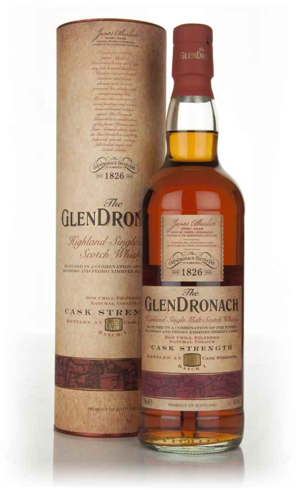 The GlenDronach Cask Strength - Batch 1